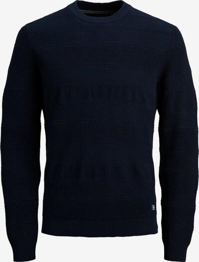 JACK & JONES Pullover in dunkelblau: Frontalansicht
