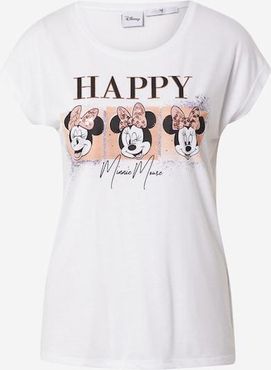Hailys T-Shirt 'Layla' in helllila / apricot / schwarz / weiß, Produktansicht