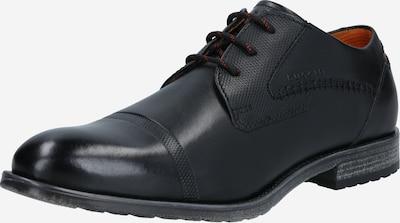 bugatti Zapatos con cordón 'Lotus' en negro, Vista del producto