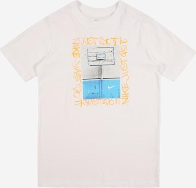 Nike Sportswear Shirt in aqua / gelb / grau / weiß, Produktansicht