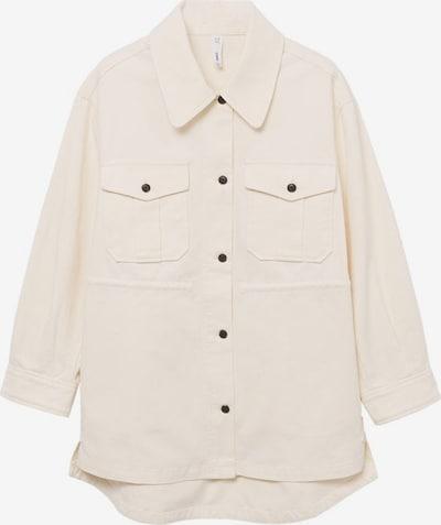 MANGO Between-Season Jacket 'Corn' in Cream, Item view
