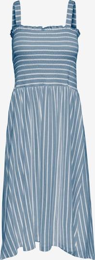 ONLY Kleid 'PEPPA' in blue denim / weiß, Produktansicht
