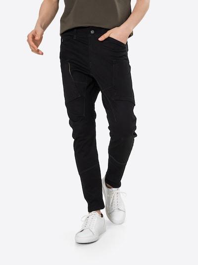 fekete G-Star RAW Cargo nadrágok, Modell nézet