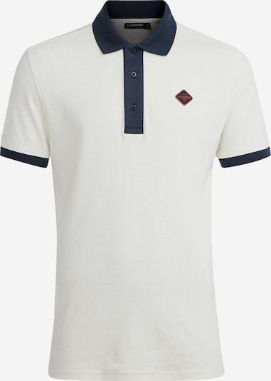 J.Lindeberg Shirt 'Levon' in de kleur Marine / Wit, Productweergave