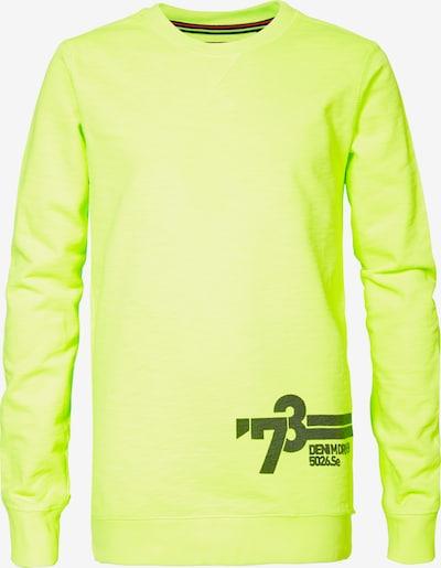 Petrol Industries Sweatshirt in neongelb, Produktansicht