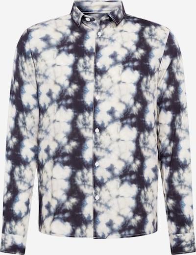!Solid Hemd 'Predbjorn' in nachtblau / schwarz / weiß, Produktansicht