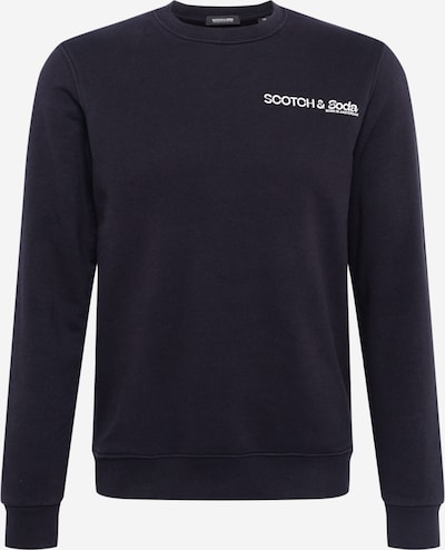 SCOTCH & SODA Bluzka sportowa w kolorze czarny / białym, Podgląd produktu