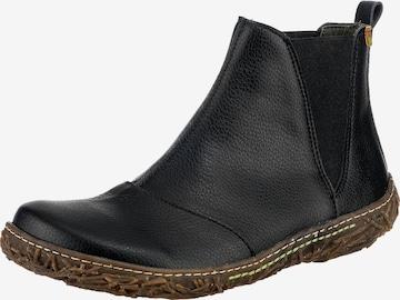 EL NATURALISTA Chelsea Boots ' Nido' in Schwarz