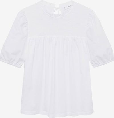 MANGO Shirt 'ABEJA' in weiß, Produktansicht