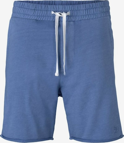 TOM TAILOR DENIM Hose in blau / weiß, Produktansicht