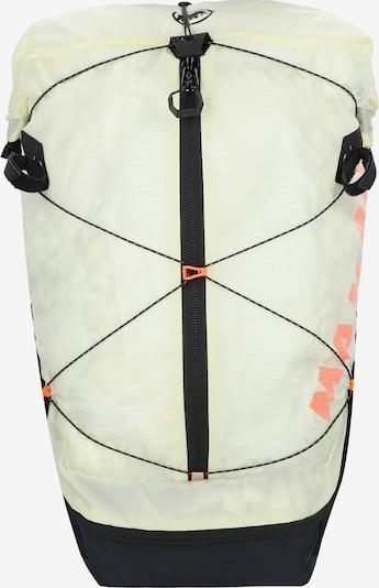MAMMUT Sportrugzak 'Ducan Spine' in de kleur Pasteelgeel / Zwart, Productweergave