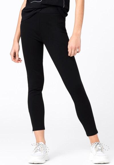 HALLHUBER Leggings in schwarz, Modelansicht