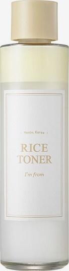 I´m from Gesichtswasser 'Rice' in weiß, Produktansicht