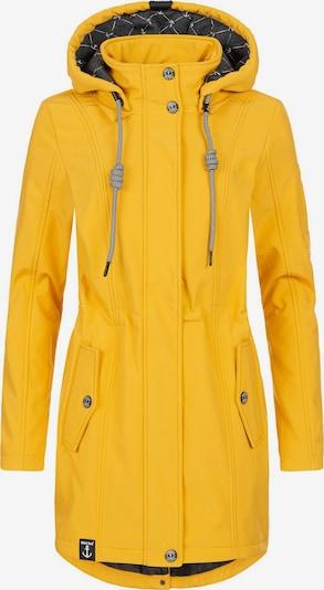 Peak Time Manteau fonctionnel en jaune, Vue avec produit