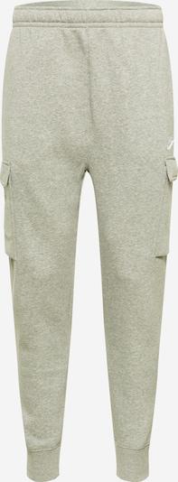 Kelnės 'CLUB' iš Nike Sportswear, spalva – margai pilka / balta, Prekių apžvalga