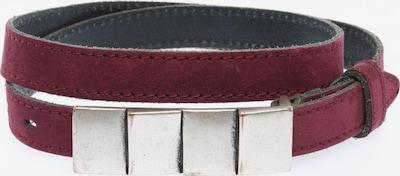 VANZETTI Ledergürtel in XS-XL in lila, Produktansicht
