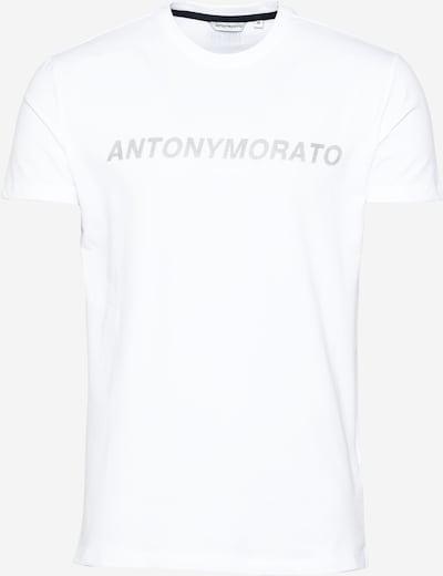 ANTONY MORATO T-Shirt en gris / blanc, Vue avec produit