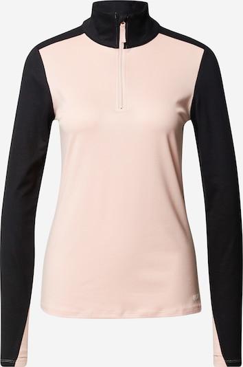 ROXY Sport-Sweatshirt in altrosa / schwarz, Produktansicht