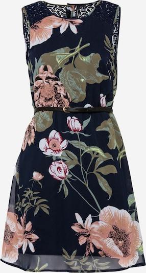 VERO MODA Kleid 'KATNISS' in opal / dunkelblau / oliv / hellpink / weiß, Produktansicht