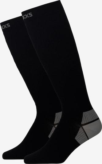 SNOCKS Athletic Socks in Black, Item view