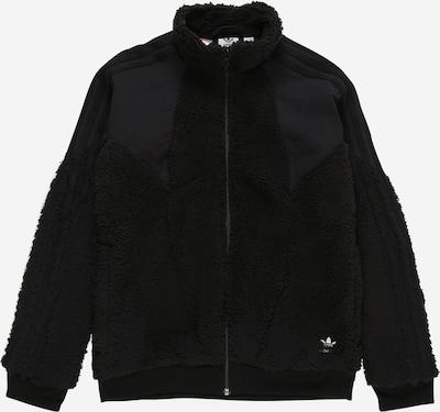 ADIDAS ORIGINALS Fleece jas 'POLAR' in de kleur Zwart, Productweergave