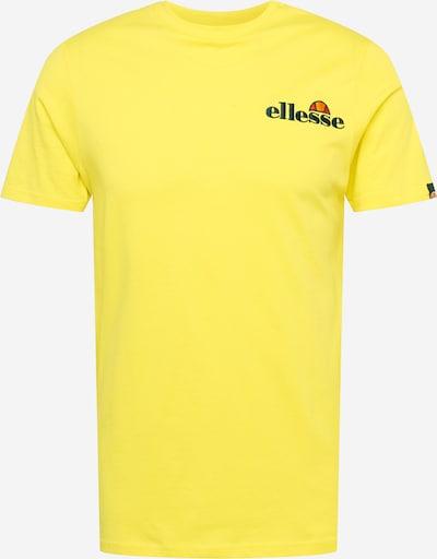 ELLESSE Tričko 'Saigo' - žltá / tmavofialová / zmiešané farby / svetloružová / biela, Produkt