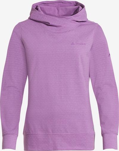 VAUDE Athletic Sweatshirt 'Tuenno' in Purple, Item view
