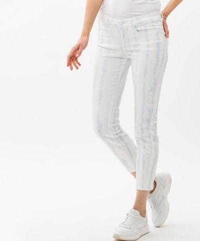 BRAX Hose in creme / weiß, Modelansicht