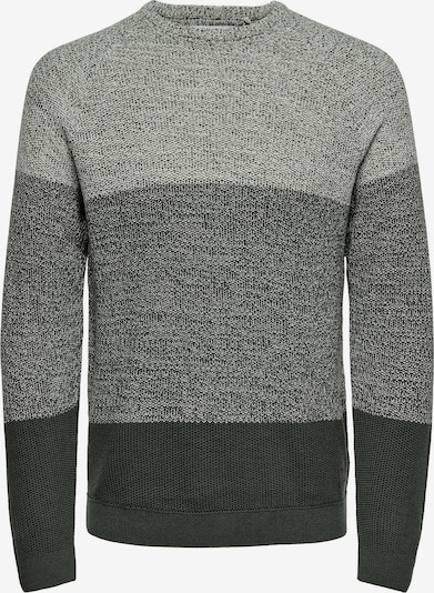Only & Sons Sweater 'Seb' in Anthracite / Dark grey / mottled grey, Item view