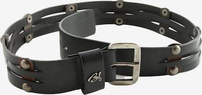 BSB Fashion Belt in XS-XL in Black / Silver, Item view