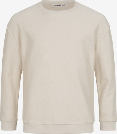 Ordinary Truffle Sweatshirt 'MALIK' in creme, Produktansicht