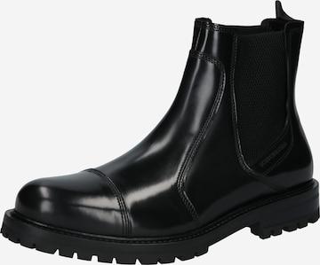 SCOTCH & SODA Chelsea Boots in Schwarz