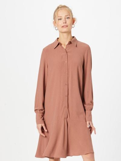 Y.A.S Košeľové šaty 'JAYDA' - hrdzavohnedá, Model/-ka