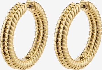 Pilgrim Earrings 'Belief' in Gold