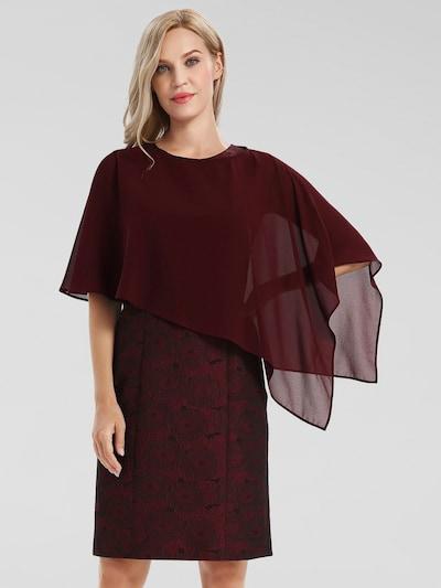 APART Pouzdrové šaty - bordó, Model/ka
