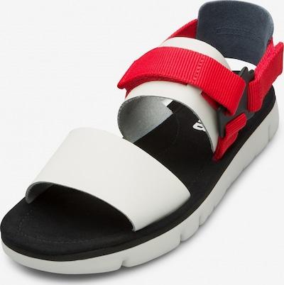 CAMPER Sandalen ' Oruga ' in de kleur Rood / Wit, Productweergave