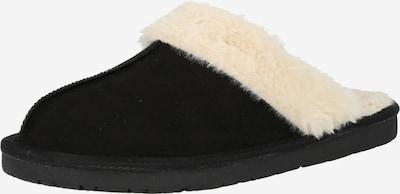 Papuci de casă Dockers by Gerli pe negru / alb natural, Vizualizare produs