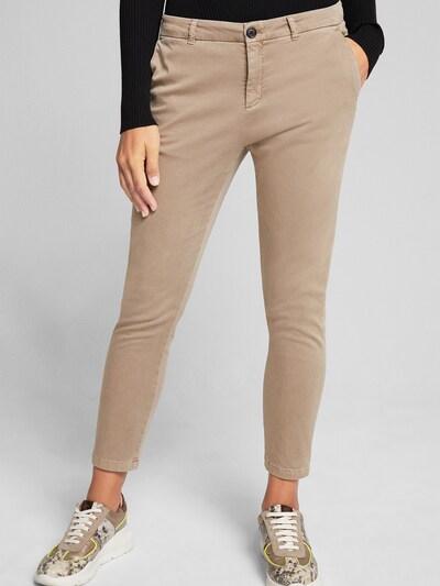 JOOP! Jeans Hose/Chino ' Sahra ' in beige, Modelansicht