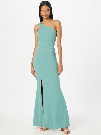 Rochie de seară 'SUZANNA' WAL G. pe verde jad, Vizualizare model