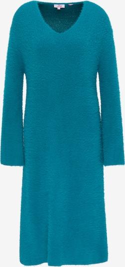 MYMO Robes en maille en pétrole, Vue avec produit