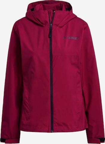 adidas Terrex Outdoor Jacket in Red