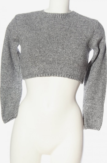 Subdued Cropped Pullover in XS-XL in hellgrau, Produktansicht