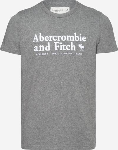 Abercrombie & Fitch Shirt in graumeliert / weiß, Produktansicht