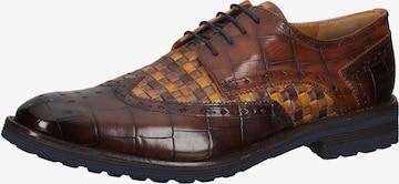 Chaussure à lacets MELVIN & HAMILTON en marron