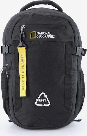 National Geographic Rucksack 'Natural' in Schwarz