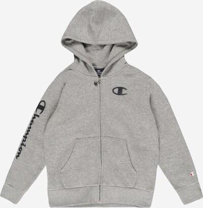 Champion Authentic Athletic Apparel Veste de survêtement en gris chiné / noir, Vue avec produit