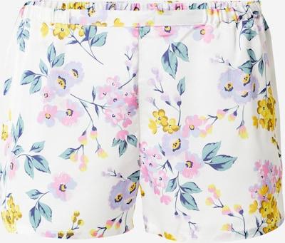 ETAM Pidžama hlače 'NAIM' u zlatno žuta / zelena / pastelno ljubičasta / bijela, Pregled proizvoda