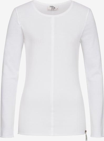 Cotton Candy Longsleeve 'INA R' in weiß, Produktansicht