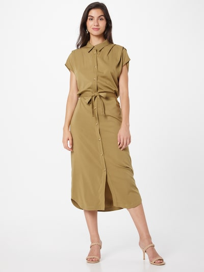 Rochie tip bluză 'Valencial' Soft Rebels pe maro cămilă, Vizualizare model
