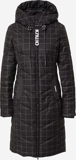 khujo Wintermantel 'Aribay' in de kleur Zwart, Productweergave